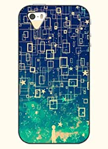 OOFIT Phone Case Design with Beautiful Night Sky for Apple iPhone 4 4s 4g