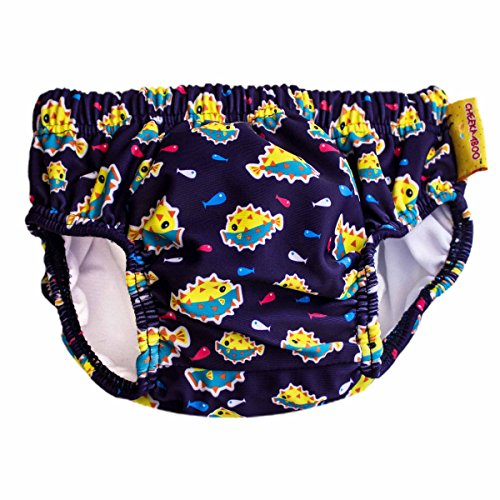 Cheekaaboo Baby Reusable & Adjustable Swiming Diaper, 0-12 Months, (Easy Trunk Or Treat Ideas)