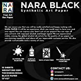 NARA Black Paper for Alcohol Ink Painting