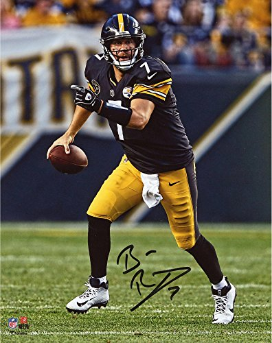 - Ben Roethlisberger Pittsburgh Steelers Autographed 8