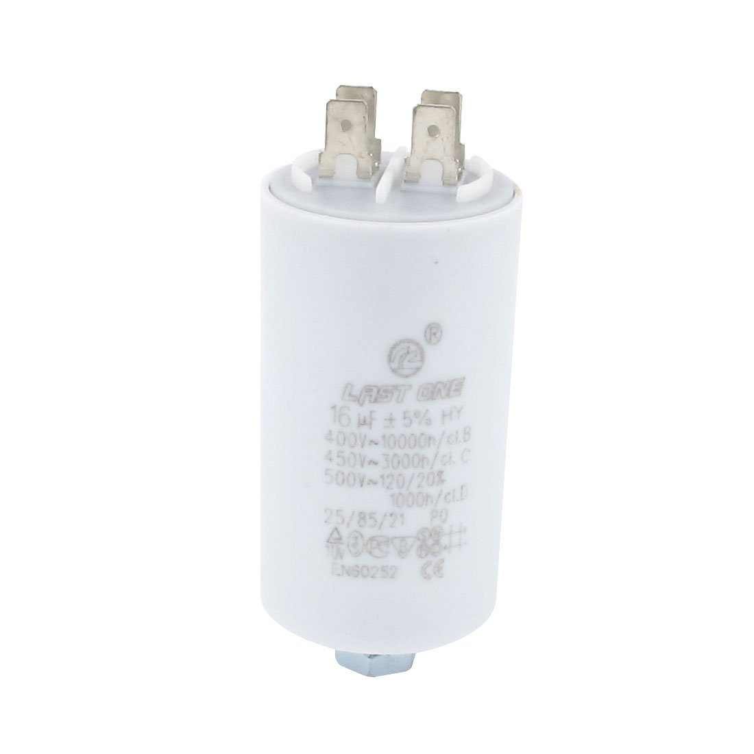 Aexit AC 450V 16uF 4 Pin Air Conditioner Pump Fan Run Motor Capacitor