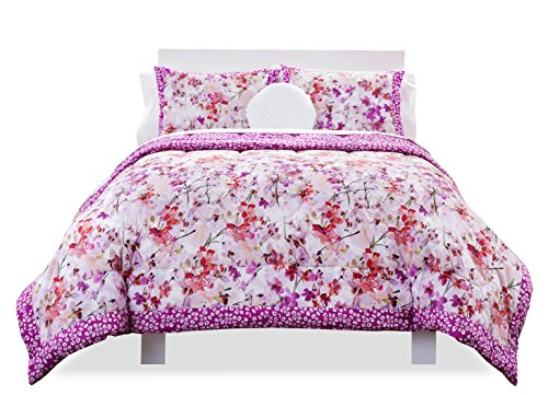 SEVENTEEN 100-Percent Cotton Kyoto Fields Comforter Set, ...