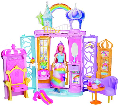 Barbie Playhouse Dreamtopia Castillo de Reino Arcoíris