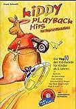 Kiddy Playback Hits für Sopran-Blockflöte: Die Top 10 der Kid-Parade für Kinder ab 6 Jahren