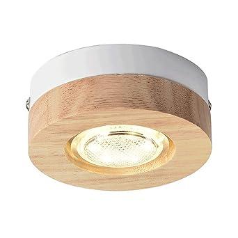 Nordic Creative Individualidad Lámpara LED de Techo Pasillo ...