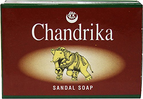 Chandrika Sandal Soap Chandrika 75 gram Bar (Chandrika Sandalwood Soap)