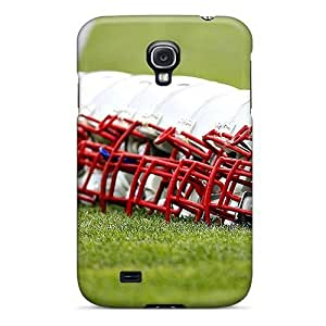 Fashion Tpu Case For Galaxy S4- New England Patriots Defender Case Cover by kobestar