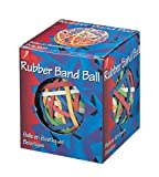 ACCO Rubber Band Ball, 275 Bands Per Ball, Assorted Colors, 1/Box (72155)