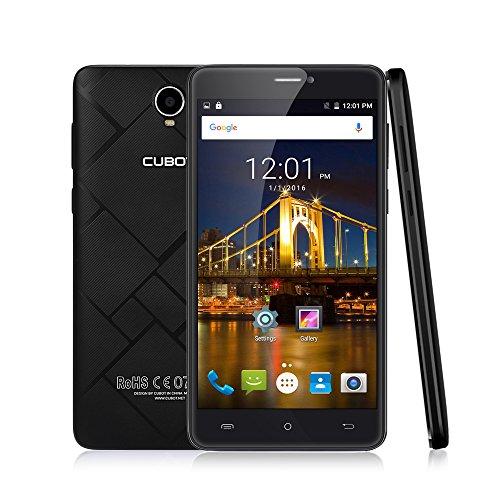 CUBOT Max Smartphone 3GB Ram 32GB, 6.0 Zoll (15,2cm) HD IPS 2.5D gebogener Bildschirm 4100 mAh Akku Dual-SIM 5.0MP +13.0MP Kamera 4G LTE FDD Android 6.0