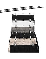 USTECH 6 Tier Skirt Pants Organizer (1 Pack)