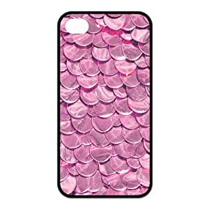 Mermaid Scale Iphone 4 4S Case, Customize Mermaid Scale Case for Iphone 4 4S