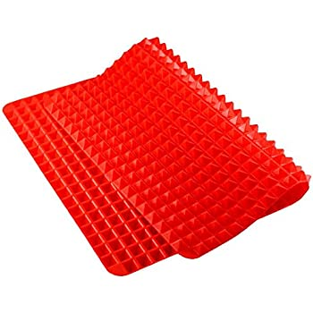 Amazon Com Silicone Pyramid Baking Mat Pastry With Fat