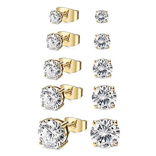 The 8 best gold stud earrings