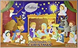 THE MADELAINE CHOCOLATE COMPANY Madelaine Chocolate Countdown to Christmas Advent Calendar -Christmas Pageant (1 Pack)