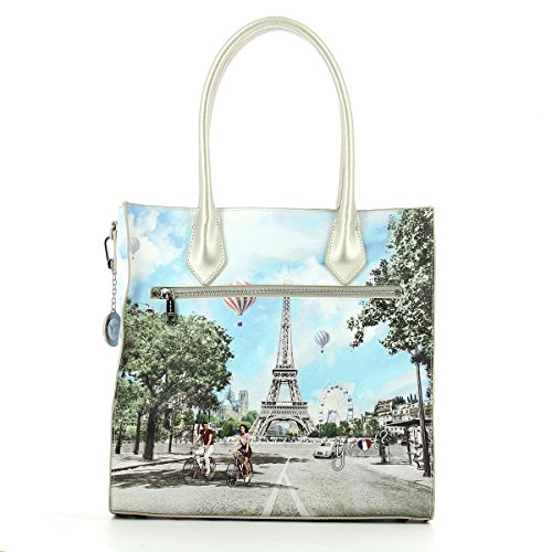 BORSA DONNA Y NOT? VERTICAL SHOPPING M BIG CHAMP ELYSEES INSTANT J-375