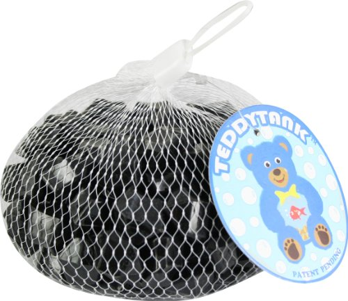 Teddy Tank Toy Accessories with Black Acrylic Diamond Shaped Stones, 8.8-Ounce by Teddy Tank