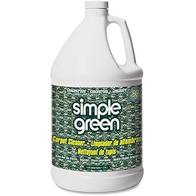 Carpet Cleaner,Deodorizes,Nonionic/Biodegradable,1 Gallon.