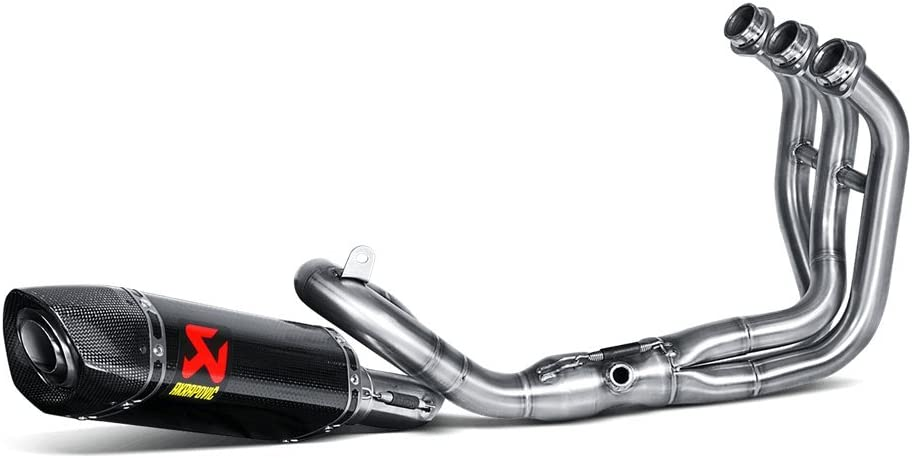 14-17 YAMAHA FZ-09: Akrapovic Racing Full System Exhaust (CARBON FIBER)