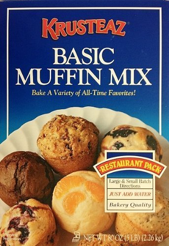 Krusteaz Basic Muffin Mix 80oz Blueberry Streusel Coffee Cake