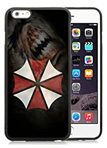 Case For iPhone 6 Plus,Resident Evil Video Games Black iPhone 6 Plus (5.5) TPU Case Cover