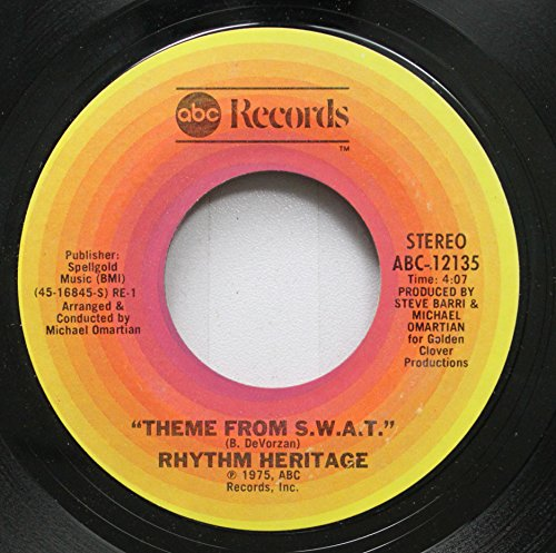 (ABC Records 45 RPM Theme from S.W.A.T. / I Wouldn't Treat a Dog (The Way You Treated Me))