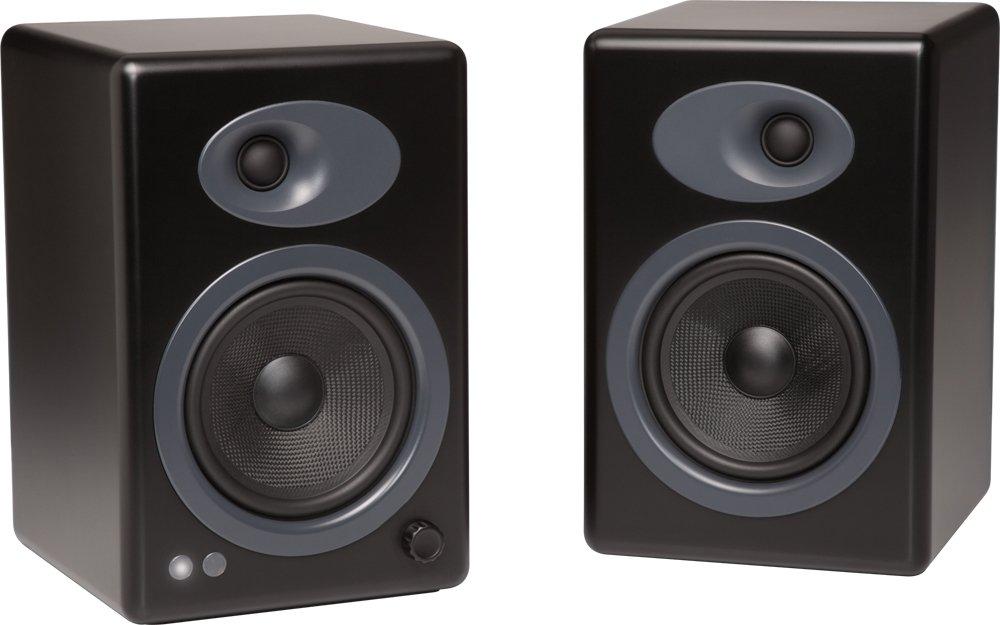 Audioengine A5+ Active 2-Way Speakers (Black) by Audioengine