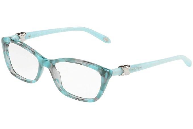 e1c254be969 Tiffany TIFFANY SIGNATURE TF 2074 GREY AQUAMARINE women Eyewear Frames   Amazon.co.uk  Clothing