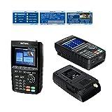 SATLINK WS-6916 DVB-S/S2 HD Digital Satellite TV Finder with MPEG-2/MPEG-4, Digital Satellite Signal Finder Meter, Black
