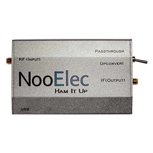 Extruded Aluminum Enclosure Kit, Silver, for Ham It Up v1.3 RF Upconverter for NESDR and RTL-SDR radios