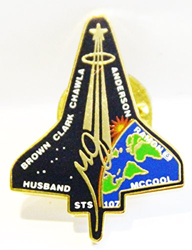 NASA STS-107 Shuttle Columbia January 2003 Trading Collectible Lapel Pin -