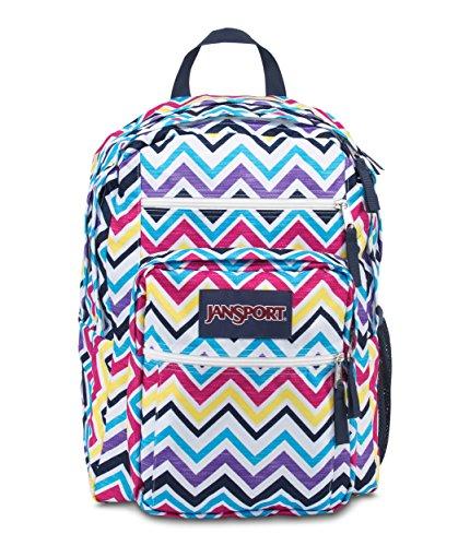 JanSport Big Student Multi Saucy Chevron Backpack