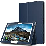 Lenovo Tab 4 / Tab 4 Plus 10'' Case - MoKo Ultra Compact Premium Slim Folding Stand Cover Case with Auto Wake & Sleep for Lenovo Tab 4 / Tab 4 Plus 10.1 Inch HD Tablet 2017 Release, Indigo