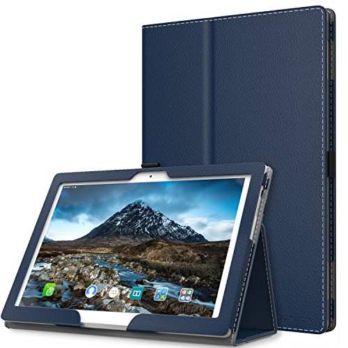 Lenovo Tab 4 / Tab 4 Plus 10 Case - MoKo Ultra Compact Premium Slim Folding Stand Cover Case with Auto Wake & Sleep for Lenovo Tab 4 / Tab 4 Plus 10.1 Inch HD Tablet 2017 Release, Indigo