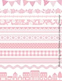 Pink Girly Cute Pattern 2016 Monthly Planner