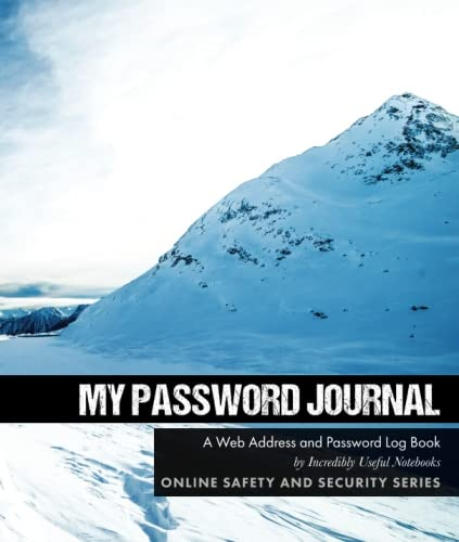 My Password Journal: A Web Address and Password Log Book (Online Safety and Security Series) PDF