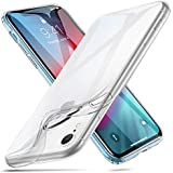 ESR Slim Clear Soft TPU Case for iPhone XR, Flexible Cover [Supports Wireless Charging] Compatible for The iPhone XR 6.1'' (Released in 2018), Clear