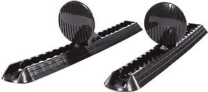 Pelican Adjustable Kayak Foot Brace/Pegs with Trigger Lock - Set of 2 - Black - PS0540-2
