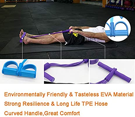 Strength Training Fitness Toning Tube,Yoga Slimming with comfortable handles