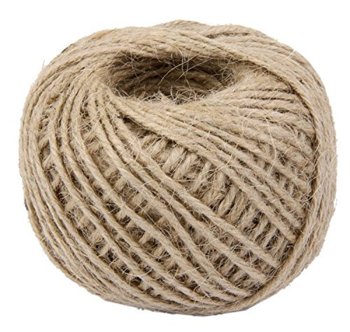 - Yonger 50M Natural DIY Wrap Jute Twine Cooking String Rope for Trussing and Tying Poultry and Meat Making Sausage,Good for Arts Crafts and Garden Khaki