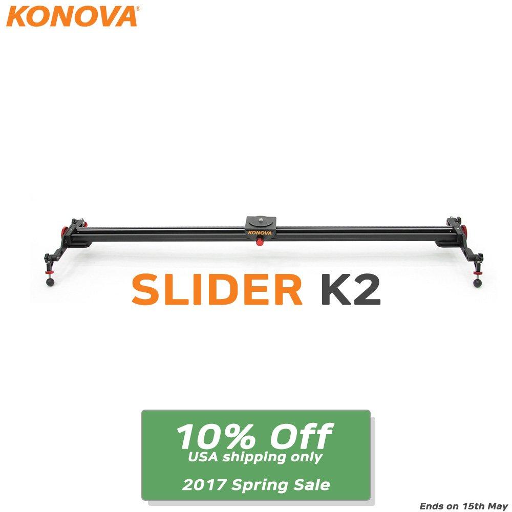 Konova Camera Slider Dolly K2 120cm (47.2 Inch)