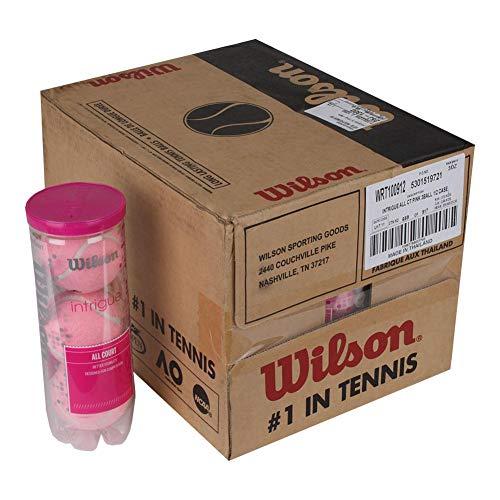 Wilson-Intrigue All Court Pink Tennis Ball Half Case