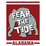 Cheap Fear The Tide Alabama Elephant Crimson And Grey 30 x 44 Large House Flag