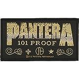 Pantera Men's Whiskey Label Woven Patch Black