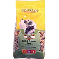 Sun Seed Company Sss94012 6-Pack Vita Daily Diet Rat/Mouse Food, 2-Pound