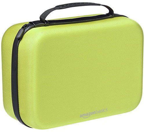 AmazonBasics Travel Storage Nintendo Switch Yellow