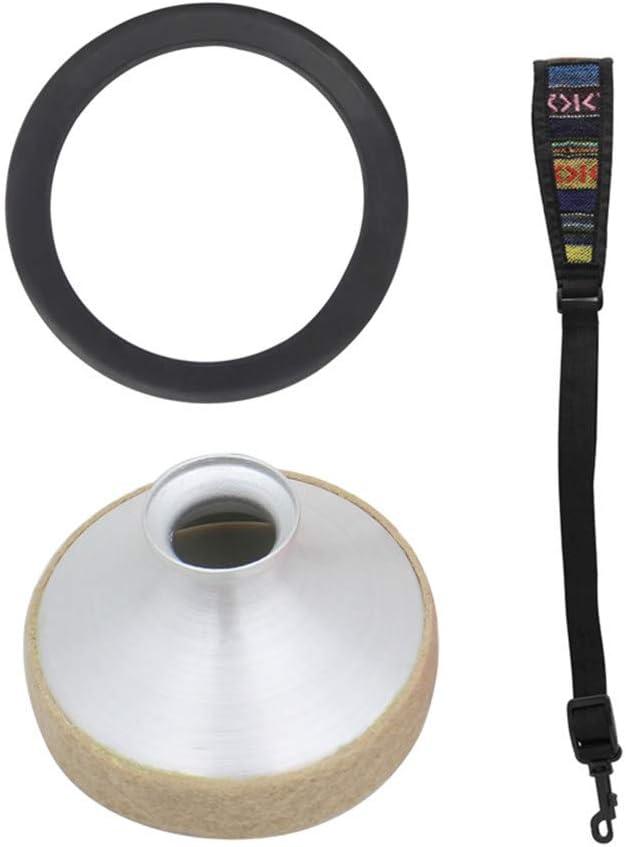 Tour de Cou Ethnique Accessoires /électroniques RONSHIN Lot de 3 Silencieux pour Saxophone Alto en Alliage daluminium Bague sourdine