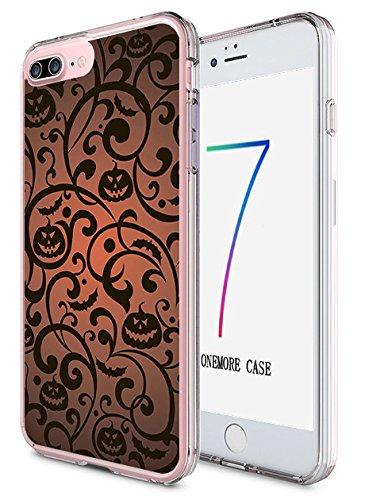 iPhone 7 Plus Case Slim Fit 5.5 Inch Halloween Pattern (Halloween Qutoes)