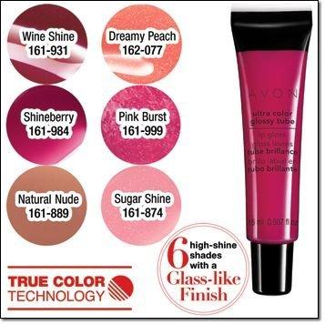 Avon Ultra Color Glossy Tube Lip Gloss