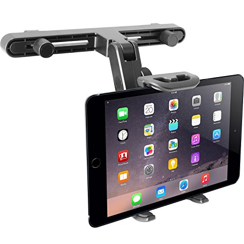 ar Seat Headrest Mount and Holder for Apple iPad Air / Mini, Samsung Galaxy Tab, Kindle Fire, Nintendo Switch, and 7