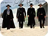 Tombstone Walking Into Destiny At The Ok Corral Gunfight Old West Mouse Pads Photo Art